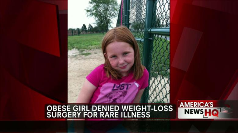 12-Year-Old Girl Denied Weight-Loss Surgery for Rare Illness