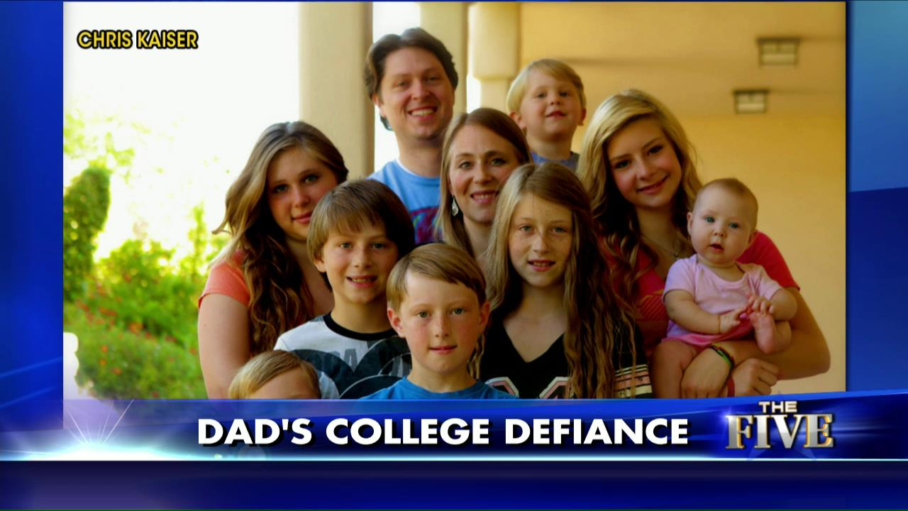 Here's Why a Father of 8 Says He Won't Pay for College