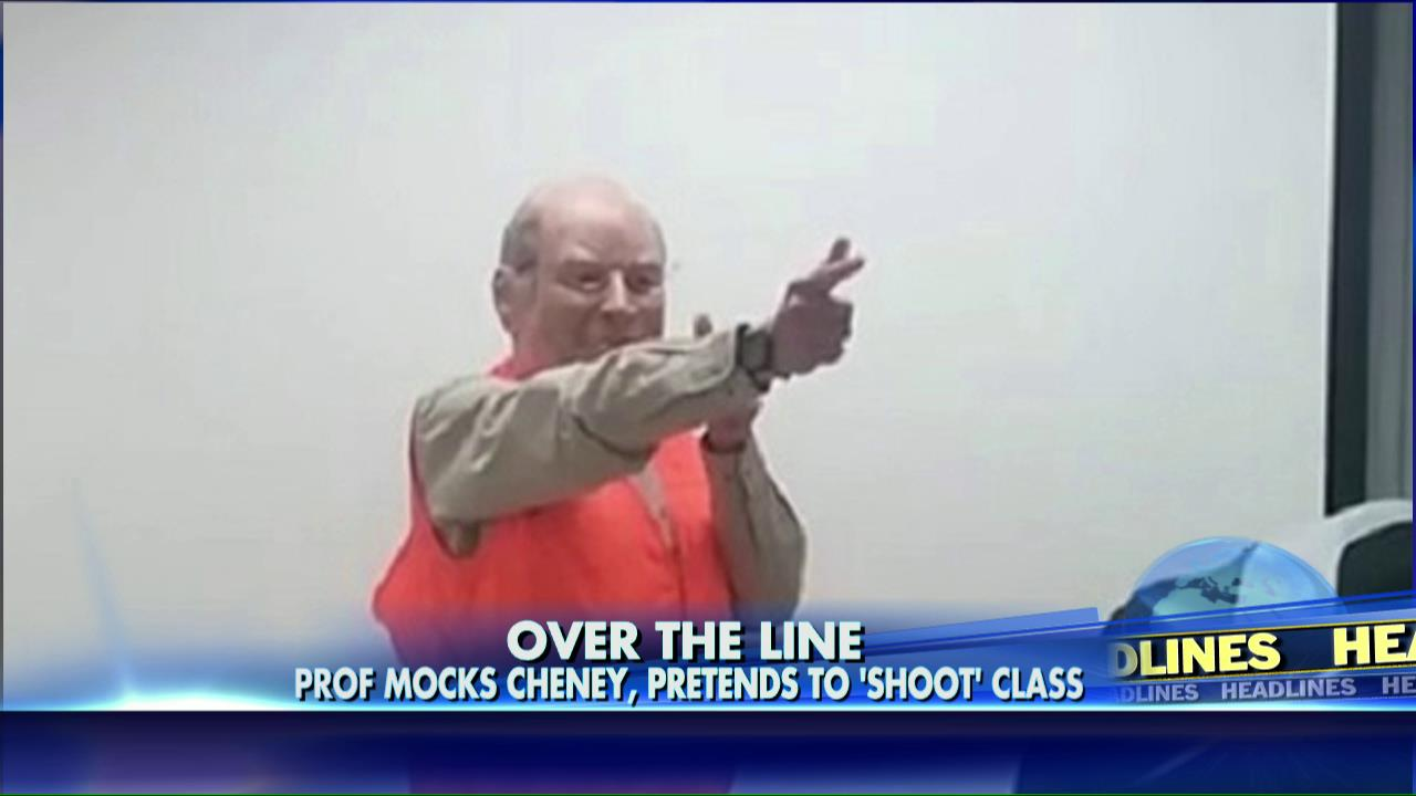 Dick cheney halloween costume shooting