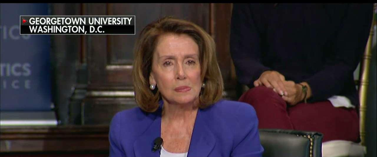 WATCH: Student Confronts Nancy Pelosi Over 'Crumbs' Comment