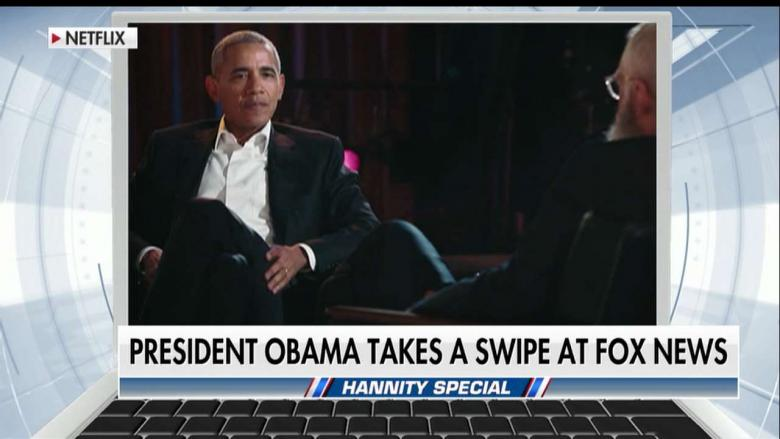 Hannity & Gingrich Fire Back at Obama Over His Comments About Fox News