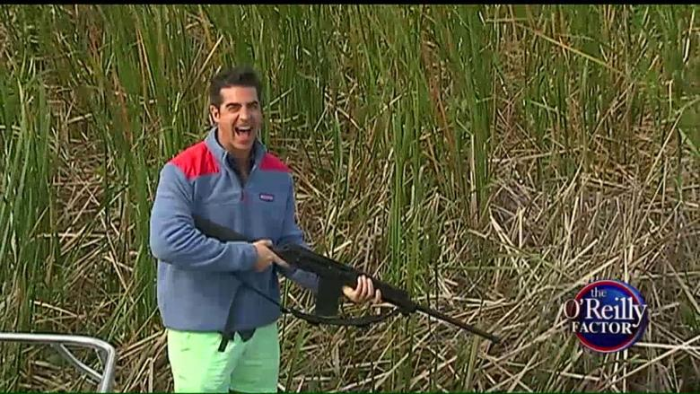 Watters Goes Snake Hunting in Florida Everglades