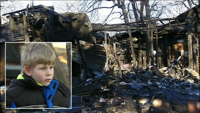 A first grader saved his family from a house fire in Mansfield, Texas. (Fox 4)