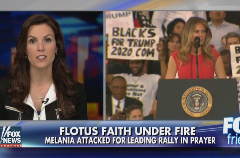 Liberals Attack First Lady Melania Trump for Reciting The Lord's Prayer. Your thoughts?