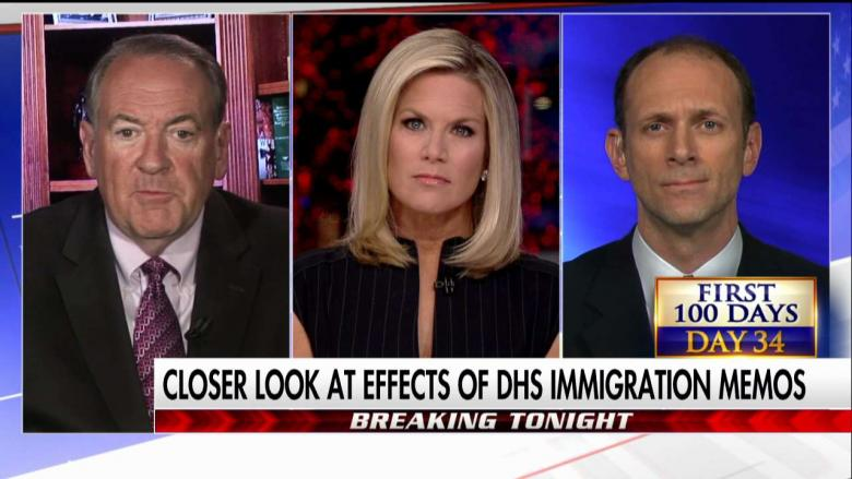 Huckabee: Opposition to Trump's Immigration Policies Is ...