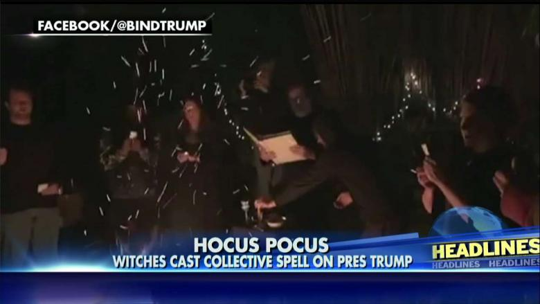 Witches Cast Mass Spell with Hopes of Removing Trump from Office