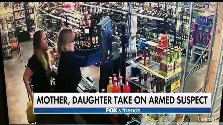 'I'm Not Going to Be a Victim': Armed Mother & Daughter Fight Off Oklahoma Armed Robber