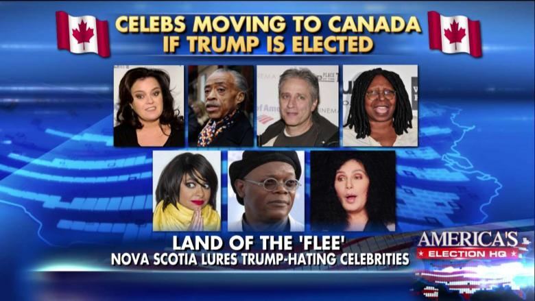 These Celebrities Say They'd Leave the Country If Trump ...