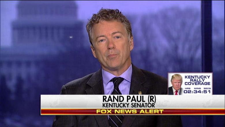 Paul on 'Wiretapping' Dispute: 'Somebody Was Spying on Trump Campaign'
