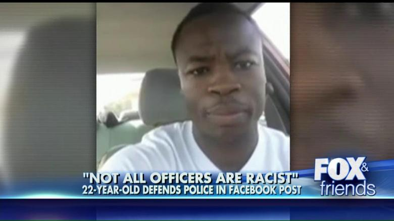 'Not All Officers Are Racist': Black Man's Defense of ...