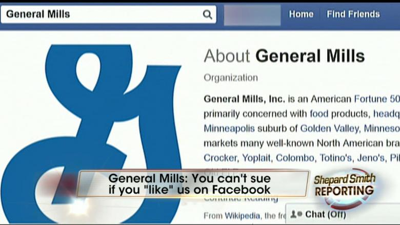 If You 'Like' This Brand, You Can't Sue: General Mills Changes Legal Terms