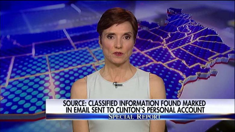Herridge Exclusive: Clinton Email Had Classified Marking at Time It Was Sent