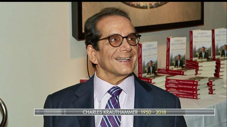 'There Won't Be Anyone Else Like Him': AB Stoddard Remembers Charles Krauthammer