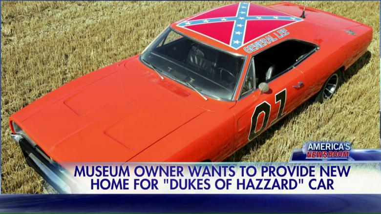 museum wants to buy dukes of hazzard car to preserve confederate flag design fox news insider