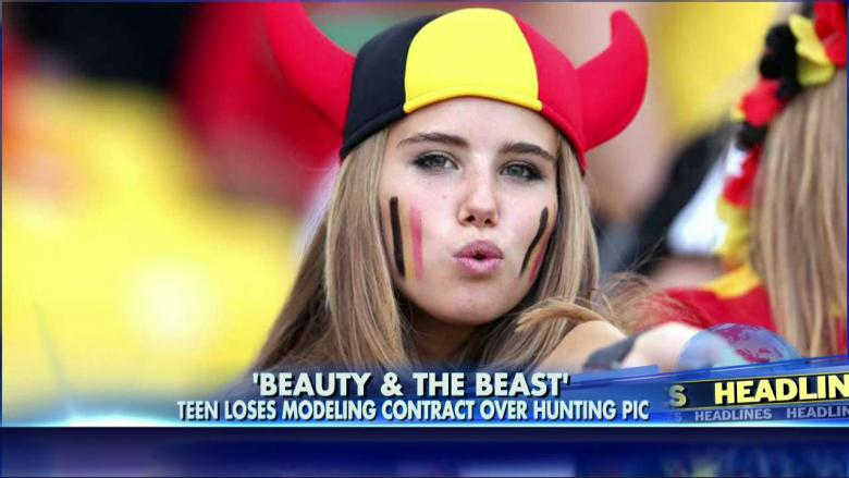 Belgium World Cup Fan Loses Modeling Gig After Posting Hunting Photo