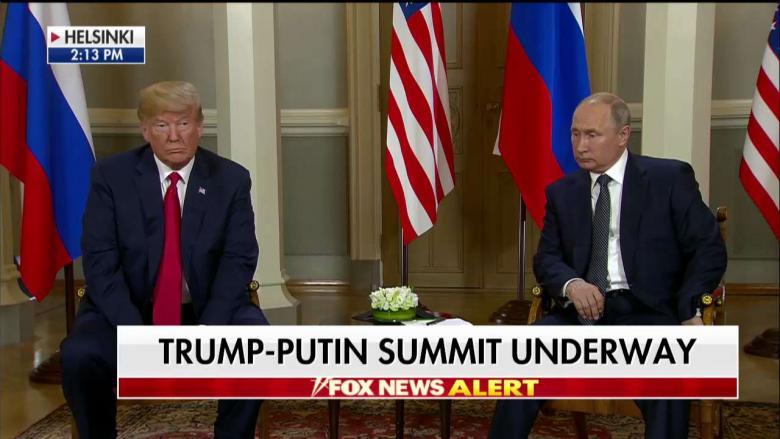 Trump Greets Putin in Helsinki, Predicts US and Russia Will Have 'Extraordinary Relationship'