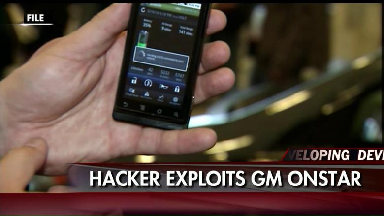 hackers can use gm 39 s onstar app to unlock and start your car fox news insider. Black Bedroom Furniture Sets. Home Design Ideas