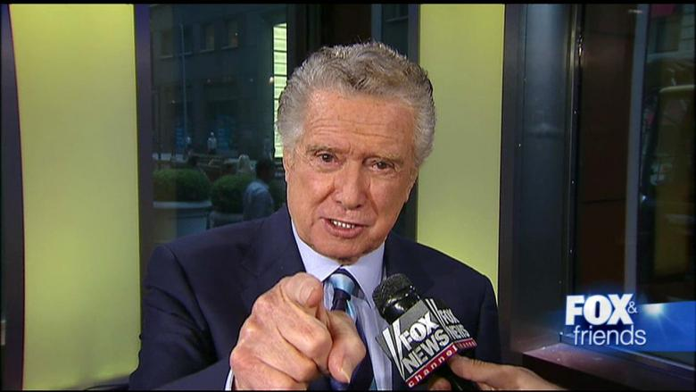 regis philbin who wants to be a millionaire