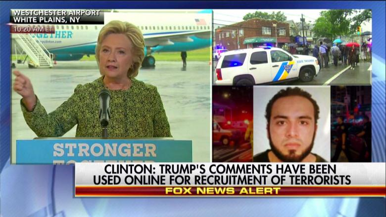Hillary on Trump's 'Secret Plan' to Fight ISIS: 'The Secret Is, He Has No Plan'