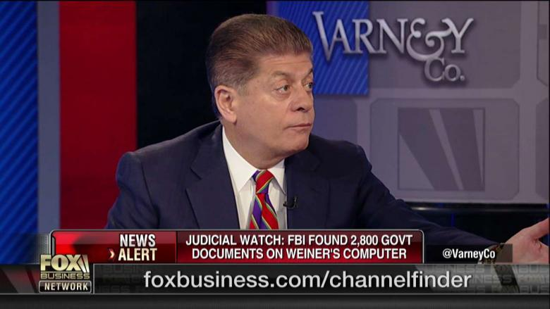 Judge Nap Says DOJ Should Reopen Clinton Email Probe: 'The Evidence Will Take Them to an Indictment'