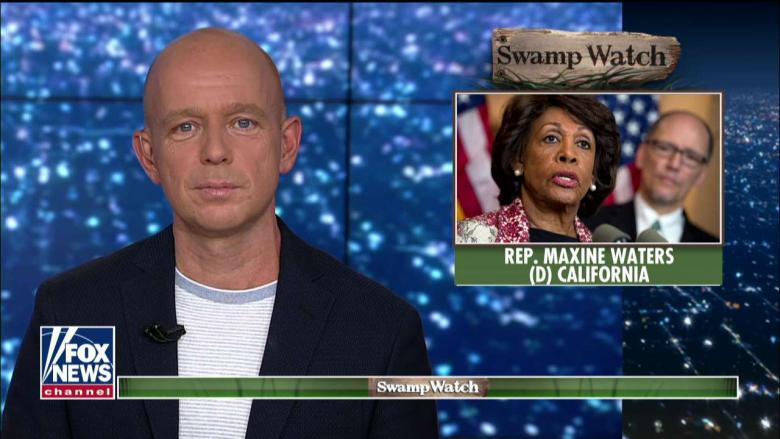 'Swamp Watch': Steve Hilton Takes on Maxine Waters' 'Conflict Donations'