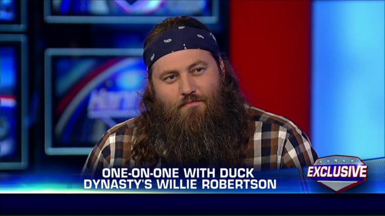 Image result for willie robertson bill o'reilly