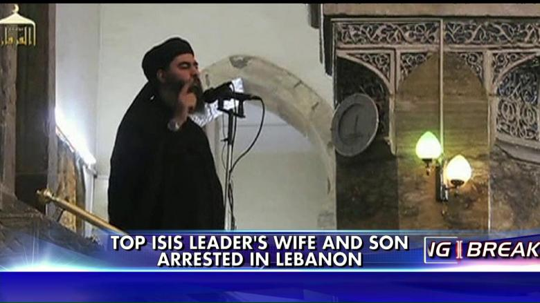 Wife & Son of ISIS Leader Detained Trying to Cross Into Lebanon