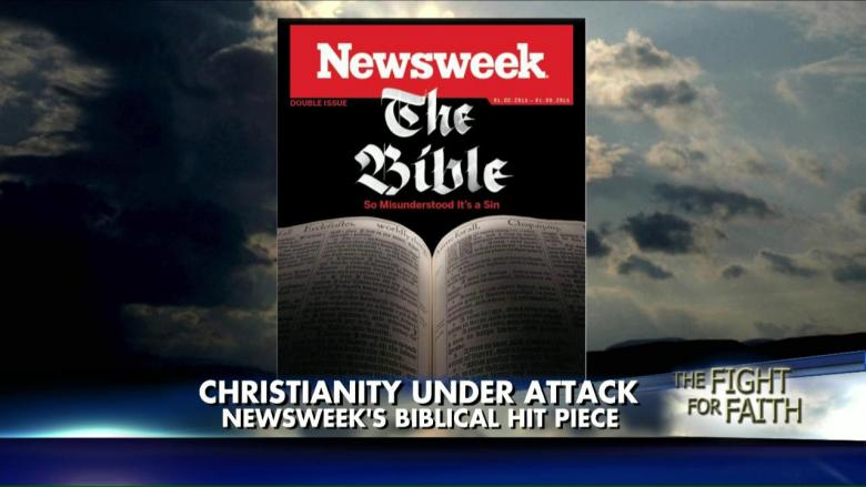 Hit Piece on the Bible?! Newsweek Slammed for 'Open Attack' on Christians