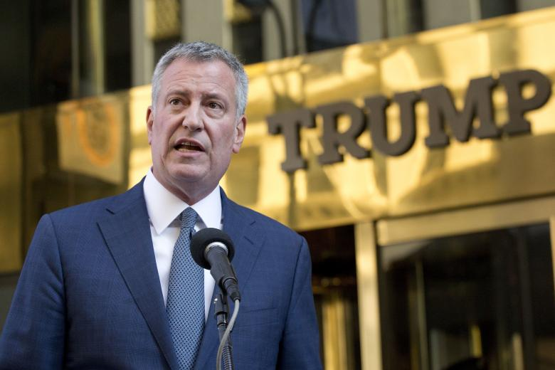De Blasio Releases Tax Returns, Challenges Trump To Do The Same