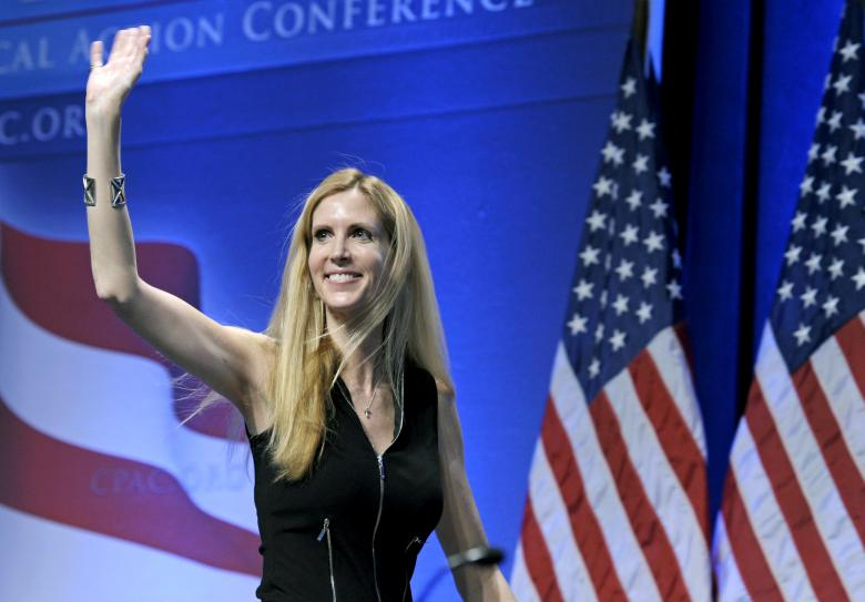 Ann Coulter Worried