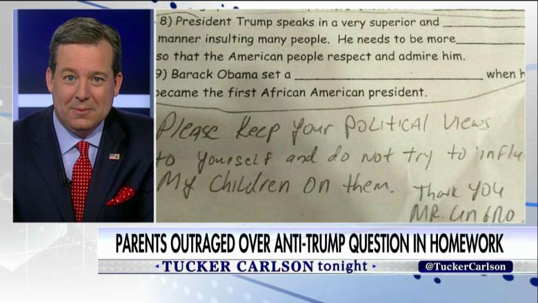 NYC Dad Outraged Over Daughter's 'Anti-Trump' Homework Question - Fox News Insider
