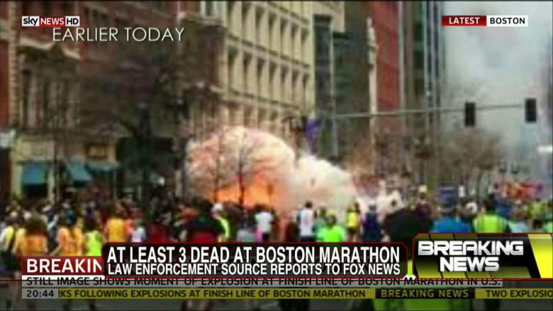 UPDATES: Injuries, Deaths Reported Following Explosions Near Finish Line of Boston Marathon
