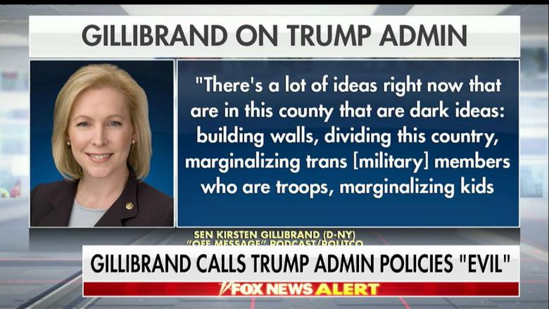 'Do Your Job, Fix the System': ICE Director Hits Back at Gillibrand for Calling Trump Admin 'Evil'