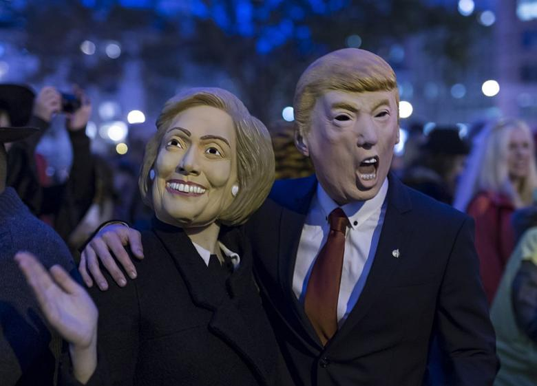 Trump vs. Clinton: Can Halloween Mask Sales Predict the Election ...