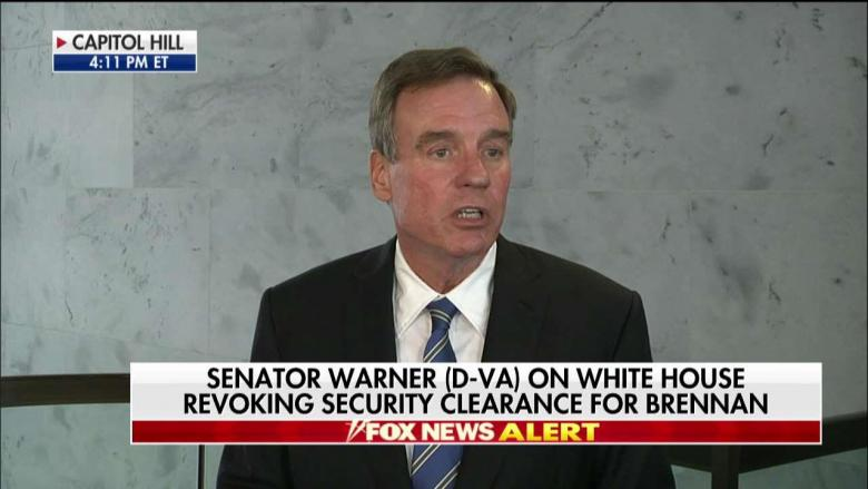 'Trying to Distract' from Omarosa: VA Sen. Warner Blasts 'Nixonian' Trump for Revoking Brennan's Clearance