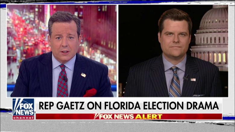 Gaetz: Gov. Scott Claiming Broward Election Board Missed Deadline Because His Vote Count Increased
