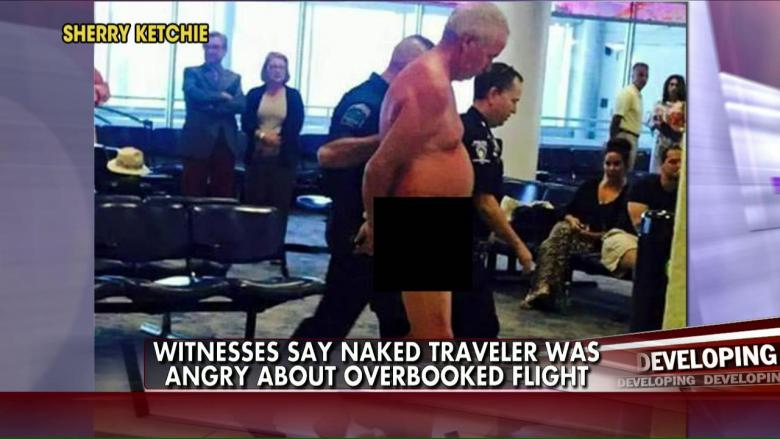 At airport th male Naked