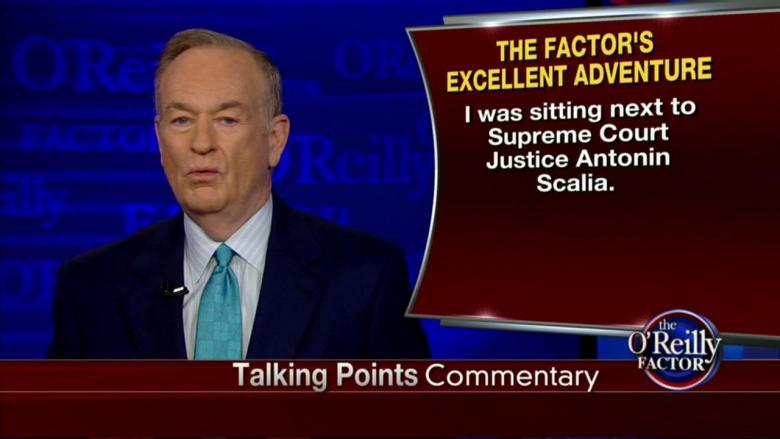 What Did O'Reilly Think of the WH Correspondents' Dinner?