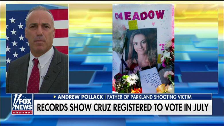 'Like a Dagger in My Heart': Father of Parkland Victim Reacts to Massacre Suspect Registering to Vote in Jail