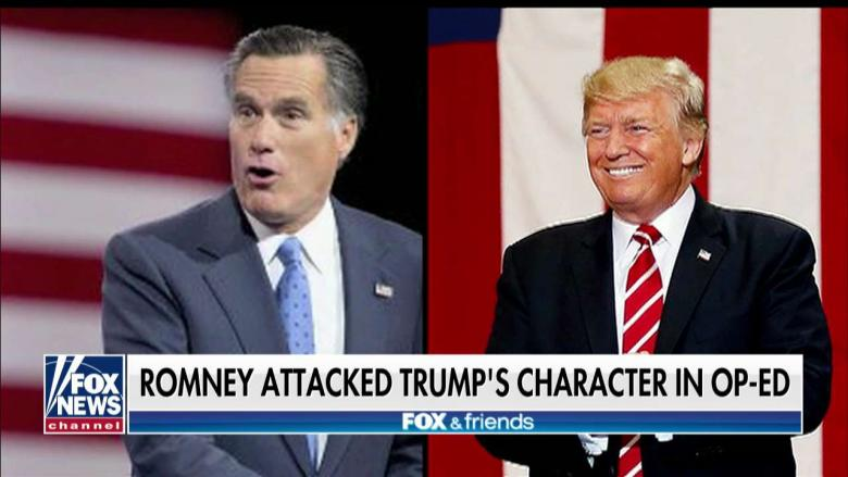 Huckabee: Mitt Romney 'Trying to Take Jeff Flake's Place' as Thorn in Trump's Side