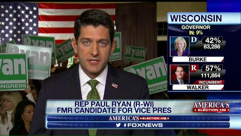 Ryan: Americans Are Rejecting the 'Inherent Incompetence of Big Gov't'