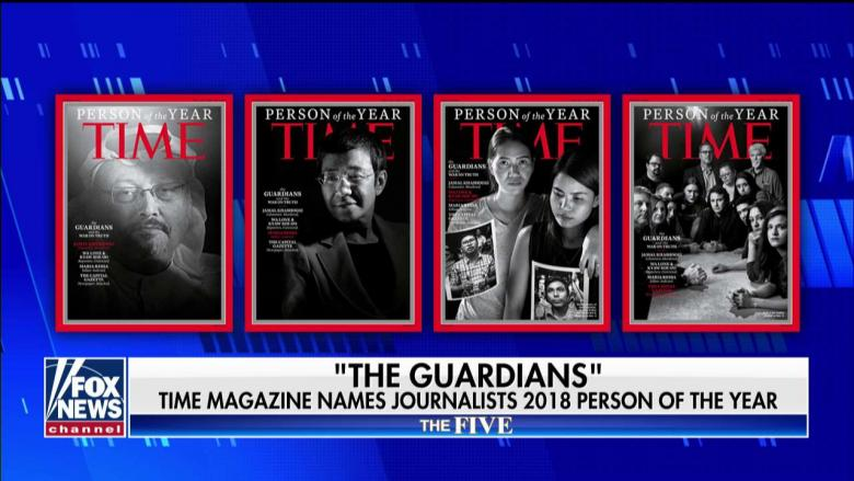'Their Way of Doing Trump Without' Naming Him: 'The Five' on TIME Person of the Year Pick