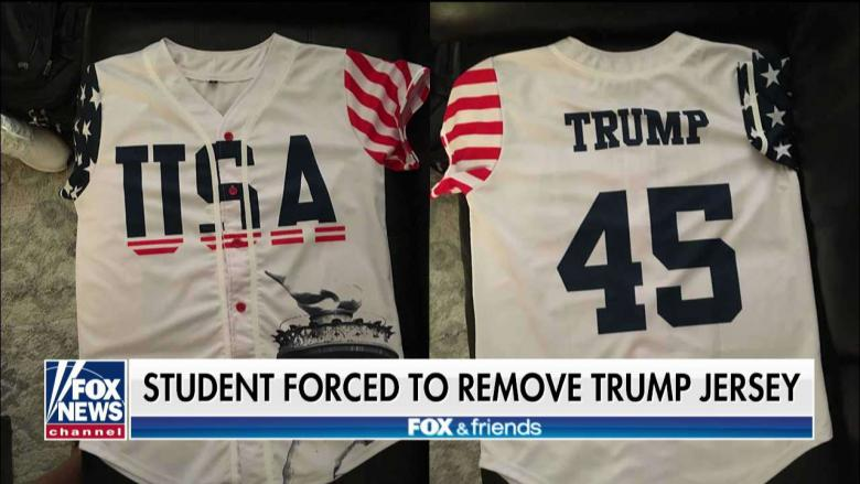 HS Student Forced to Remove 'Trump' Jersey at Patriotic Football Game