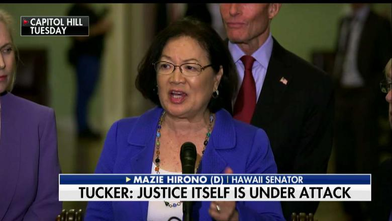 Tucker: Dems' 'Court of Credibility' Now Puts Burden of Proof on Men & the Accused