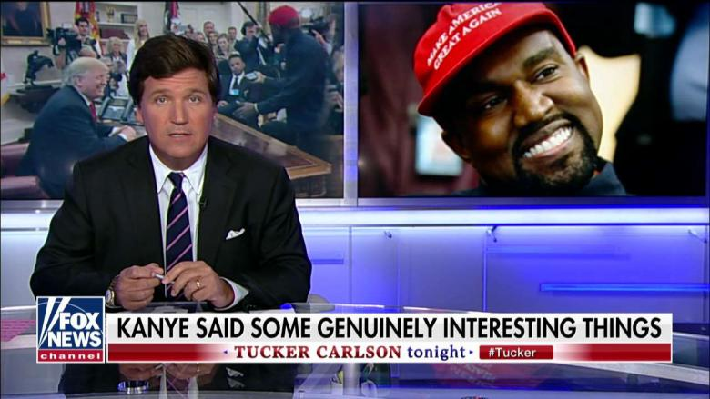 Tucker: Dems, The Media 'Terrified You'll Listen to What Kanye West Is Saying'