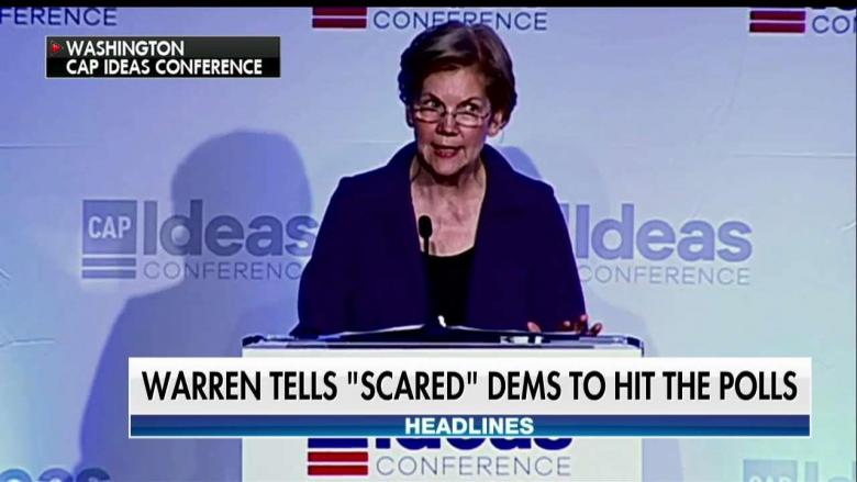 Warren: Millions of Americans 'Angry and Scared' Over 'Damage Done' by Trump, GOP