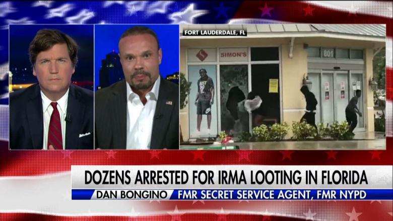 Bongino Irma Looting