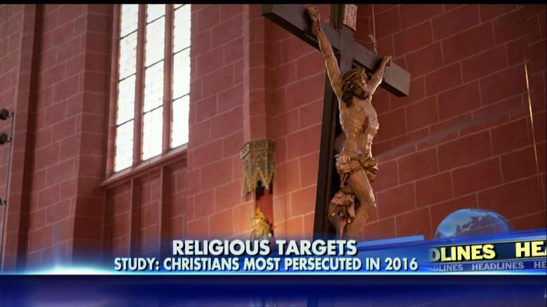 Report: Christianity Most Persecuted Religion in 2016