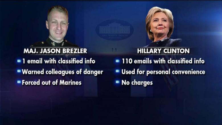 Double Standard? A Marine Was Discharged Over 1 Email Containing Classified Info