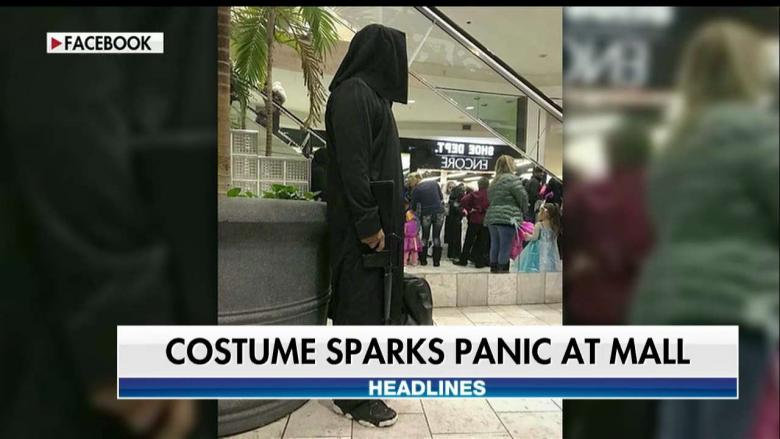 Man With ISIS-Like Halloween Costume Sparks Panic at Mall